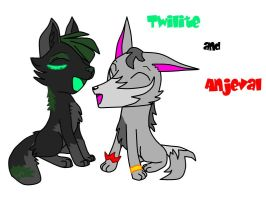 Twilite and Anjeval_night by D0ra0g0n