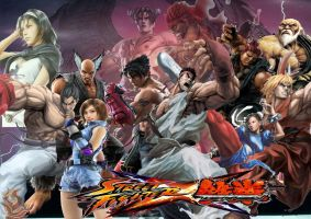 Street Fighter X Tekken 2 by SuperSaiyanCrash