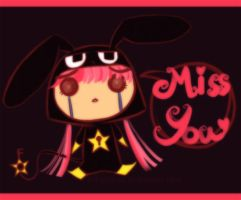 miss u by nour-adeeb