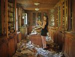 Welcome to the Library. by Lady-Schnaps