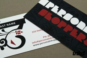 Personal Shopper Business Card by inkddesign