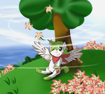 Shaymin  Forest Gracidea ( Contest ) by MintyBow12