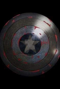 Captain America Shield by Oosturr