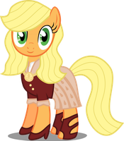 Her Inspiration Manifests: Ms. Jacqueline Apple by Canterlotian