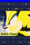 Super Sonic iPhone 4 Wallpaper by AceofPonies