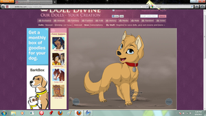 roxas as a puppy by xion9299