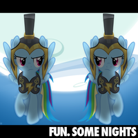 fun. - Some Nights (Rainbow Dash/Cmndr. Hurricane) by AdrianImpalaMata