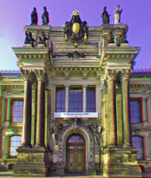 Dresden Academy of Fine Arts 3D ::: Anaglyph by zour