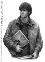 Supernatural: Sam Winchester by LinzArcher