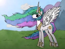 Princess Celestia by Mixermike622