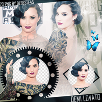 Demi Lovato AMAs Png Pack by dlbeste45