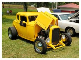 Yellow Hot Rod by TheMan268