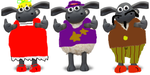 Shaun the SheepXSuper Smash Brothers Collage 4 by Tommypezmaster