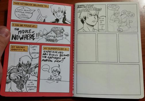 The Comic Notebook by Garth2The2ndPower