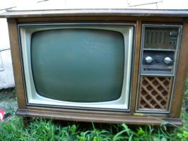 Old TV 5 by Stock7000