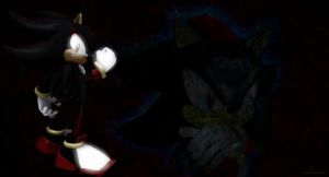 Shadow The Hedgehog Wallpaper - 1 by I-G-imagination