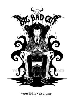 Big Bad Guy - draft title page by Verric