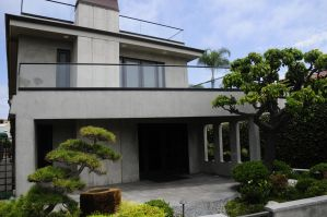 Japanese Garden and House by AndySerrano
