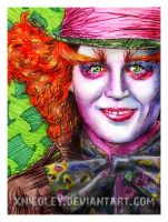 The Mad Hatter by xnicoley