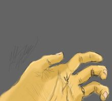 my hand by unknownknite