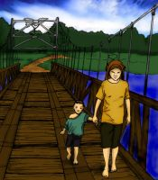 Crossing_With_Mom_by_paragraph by deanime
