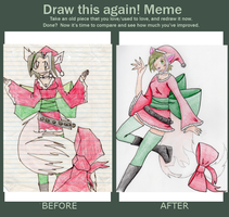 Before and After Meme Christmas Shiv Old Version by ShivKit