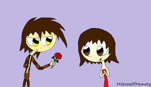 A Single Red Rose [Request] by MistressOfMemory