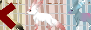 Fennec Fox Adoptables by MoonLight-Philosophy