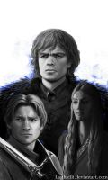 Lannister bros by Lasthielli