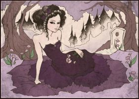 'The Violet Hour' by hollowxribcage