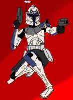 Captain Rex 1 by CloneCaptainRex
