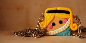 Alice Necklace Pendant by mariloufrancisco