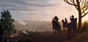 western speedpaint by EthicallyChallenged
