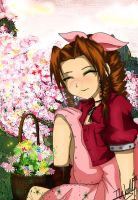 Aerith- Flower Girl by izzycool91