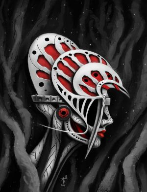 Surreal Head by Vyter