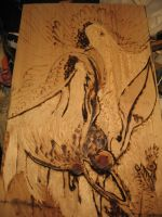 Woodburning experiment by OneCrazyCleric