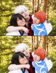 Gintama - caring for them by visuvampy