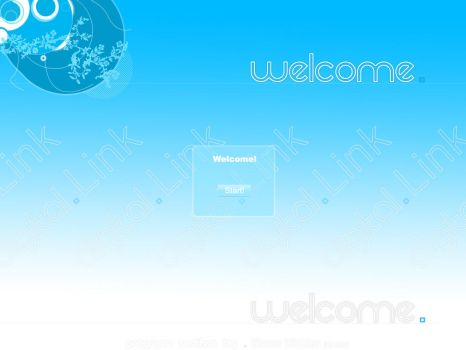 Digital Link Welcome Screen by Dest1ny-04