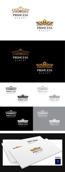 Princess Bakery Logo Template by crazygenk
