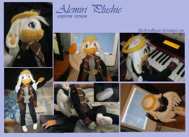 Alemiri anthro plushie uniform by Samurai-Akita