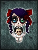 Skull Candy Chibi by SavanasArt
