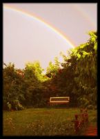 Garden Rainbow by Forestina-Fotos