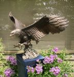 Bronze Eagle by franzenltd