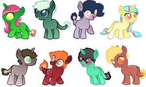 Will O' Wisp Foal Adopts by nuqeo