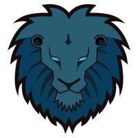 Lion head mascot by T3hSpoon