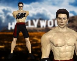 MK1 Johnny Cage by UndeadMentor