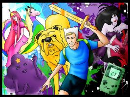 The adventure time by rebenke