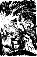 IDW Dredd Cover Inks by thisismyboomstick