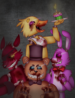 five night at the freddy s by ingart15