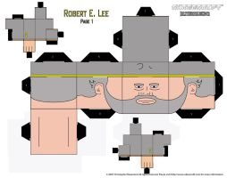 Robert E. Lee Cubee by iamtherealbender